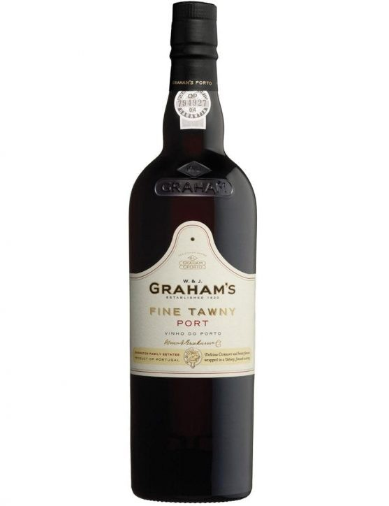 A Bottle of Graham's Fine Tawny Port Wine