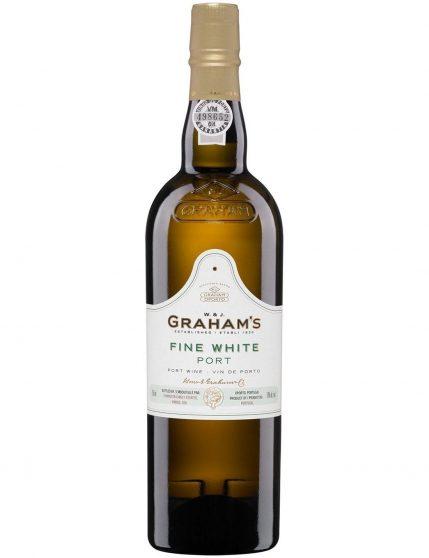 A Bottle of Graham's Fine White Port Wine