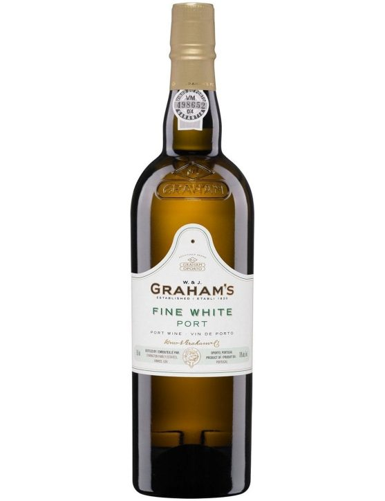 A Bottle of Graham's Fine White Port Wine