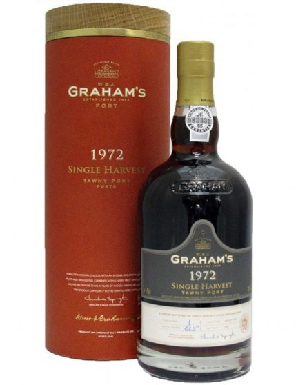A Bottle of Graham's Harvest1972