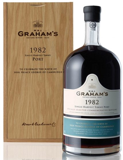 A Bottle of Graham's Harvest 1982 4.5l