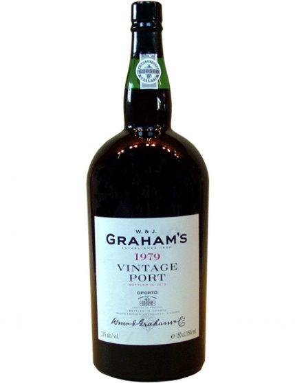A Bottle of Graham's Quinta dos Malvedos Magnum Vintage 1979