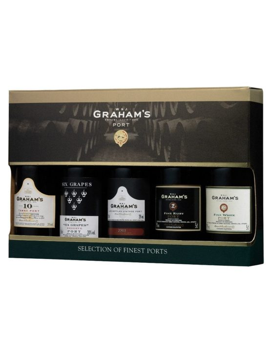 Eine Flasche Graham's Mini Selection Pack (5x5cl)