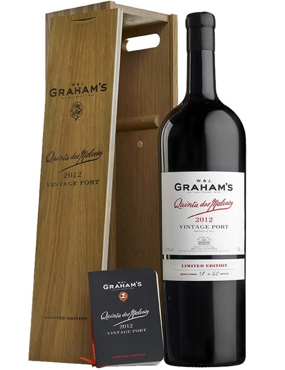 A Bottle of Graham's Quinta dos Malvedos Vintage Double Magnum 2012