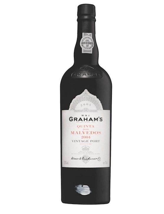 Eine Flasche Graham's Quinta dos Malvedos Vintage 2004