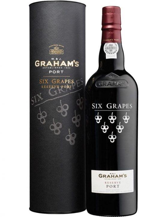 Uma Garrafa de Graham's Reserve Six Grapes