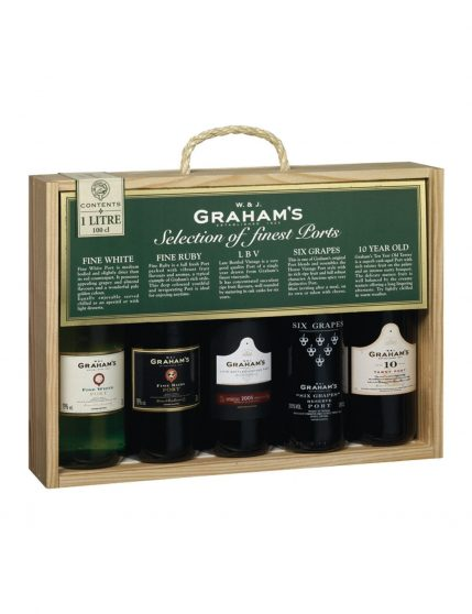 A Bottle of Graham's Selection Ports (5x20cl)