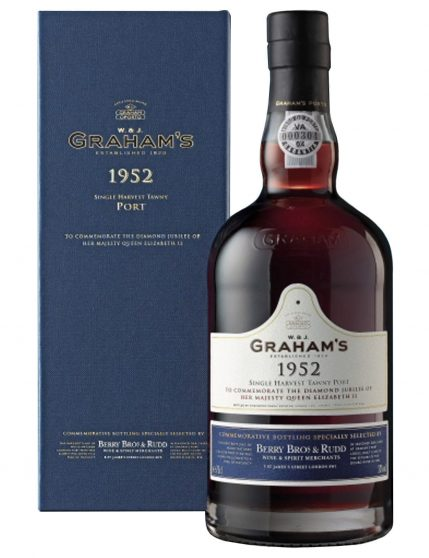 A Bottle of Graham's Single Tawny 1952