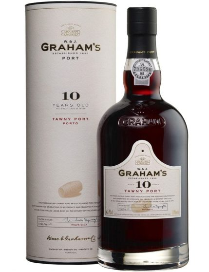 Uma Garrafa de Graham's Tawny 10 Anos
