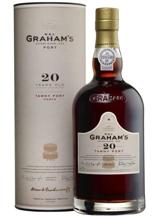 A Bottle of Graham's Tawny 20 Years