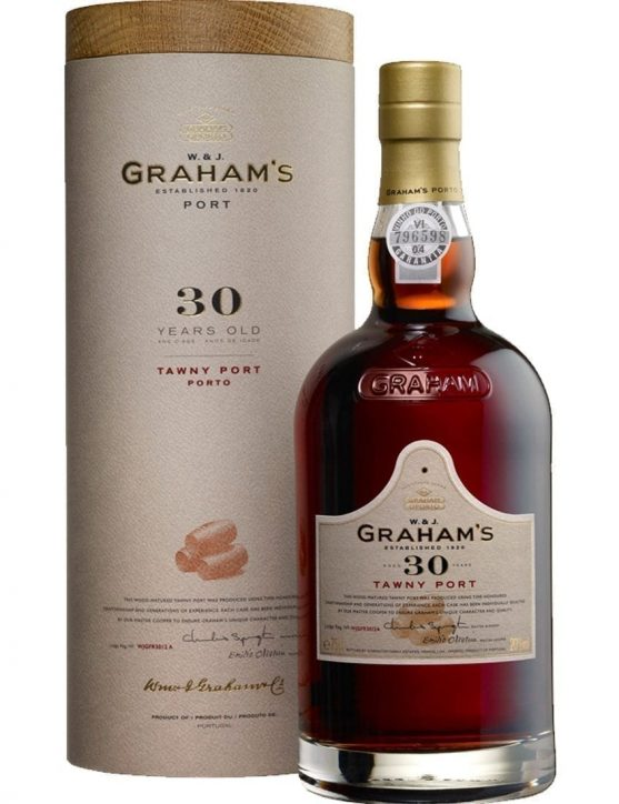 A Bottle of Graham's Tawny 30 Years
