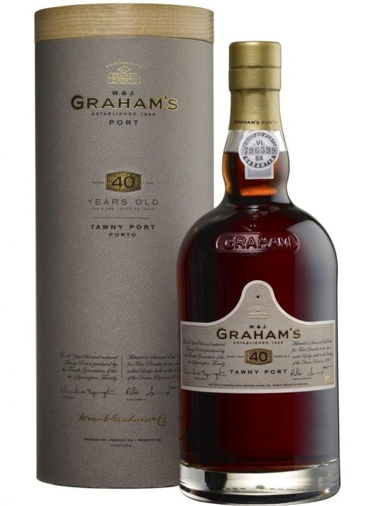 A Bottle of Graham's Tawny 40 Years