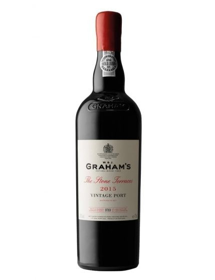 A Bottle of Graham's Stone Terraces Vintage 2015 Port