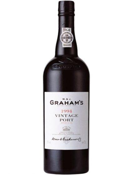 Une bouteille de Graham's Vintage 1994