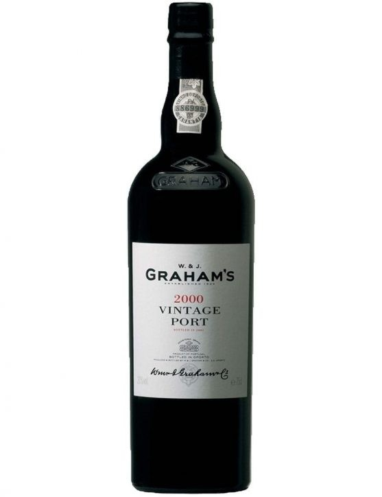 A Bottle of Graham's Vintage 2000