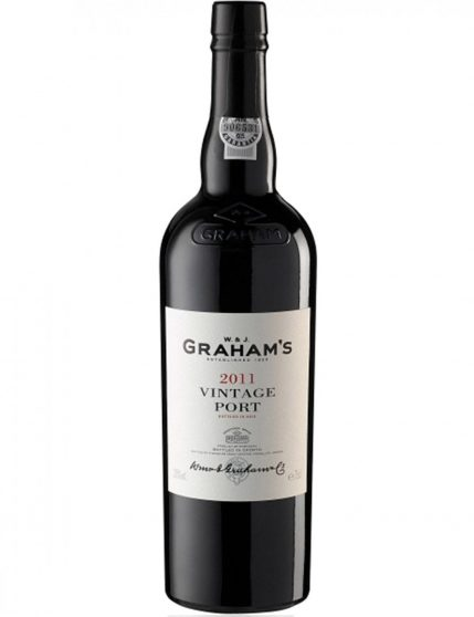 A Bottle of Graham's Vintage 2011 Port (6x75cl - Wooden Box)