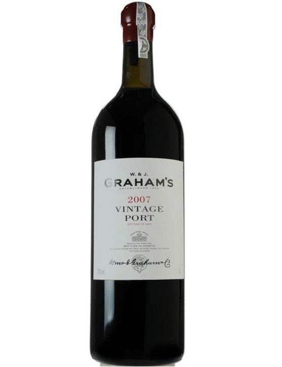 A Bottle of Graham's Double Magnum Vintage 2007 Port