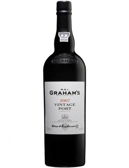 A Bottle of Graham's Vintage Magnum 2007 Port