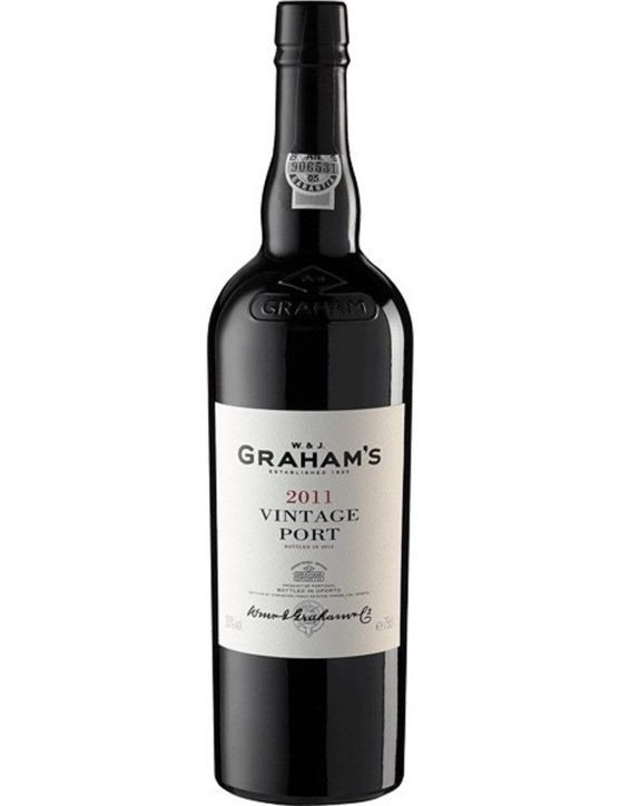 A Bottle of Graham's Vintage Magnum 2011Port Wine
