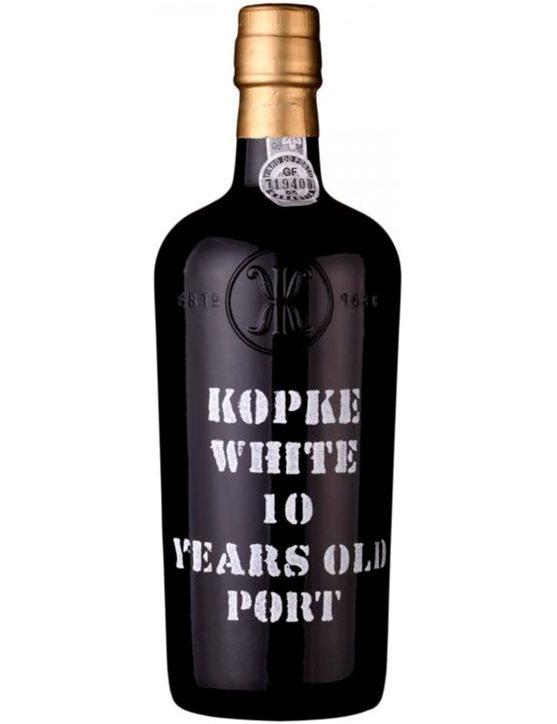 Eine Flasche Kopke Weißer 10 Jahre