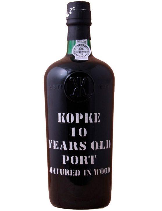 Une bouteille de Kopke Tawny 10 Ans