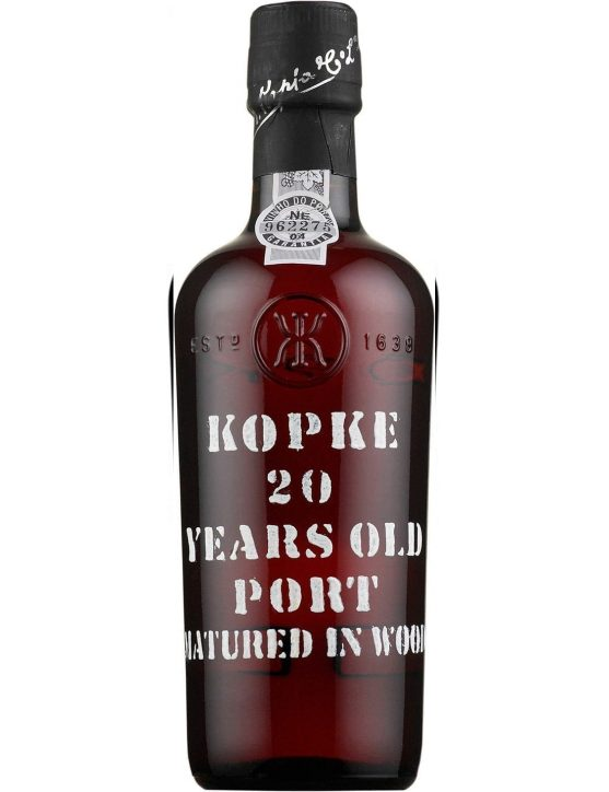 A Bottle of Kopke Tawny 20 Years