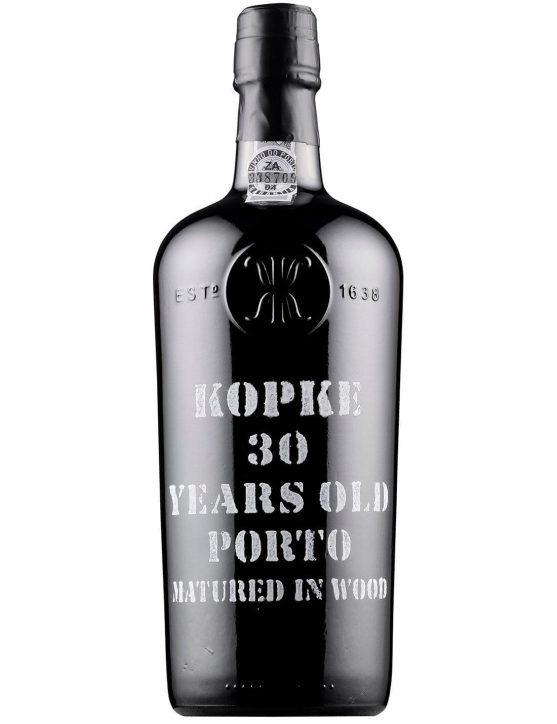 Eine Flasche Köpke Tawny 30 Jahre