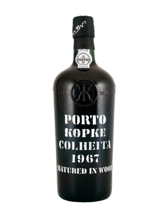 A Bottle of Kopke Harvest 1967 Port