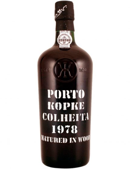 A Bottle of Kopke Harvest 1978