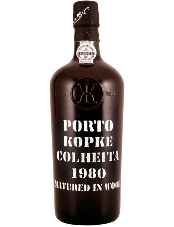 A Bottle of Kopke Harvest 1980