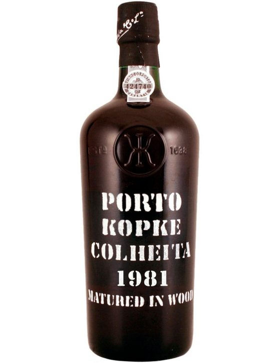 A Bottle of Kopke Harvest 1981
