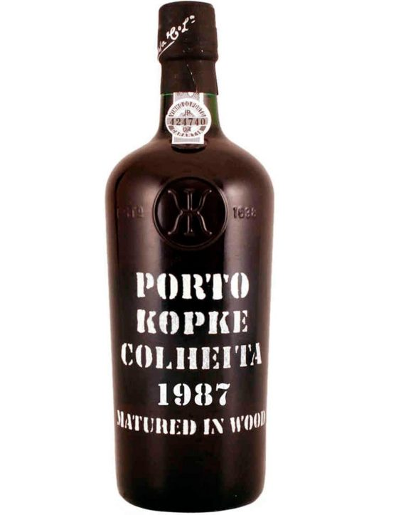 A Bottle of Kopke Harvest 1987