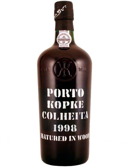 Une bouteille de Kopke Récolte 1998