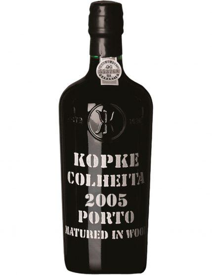 A Bottle of Kopke Harvest 2005