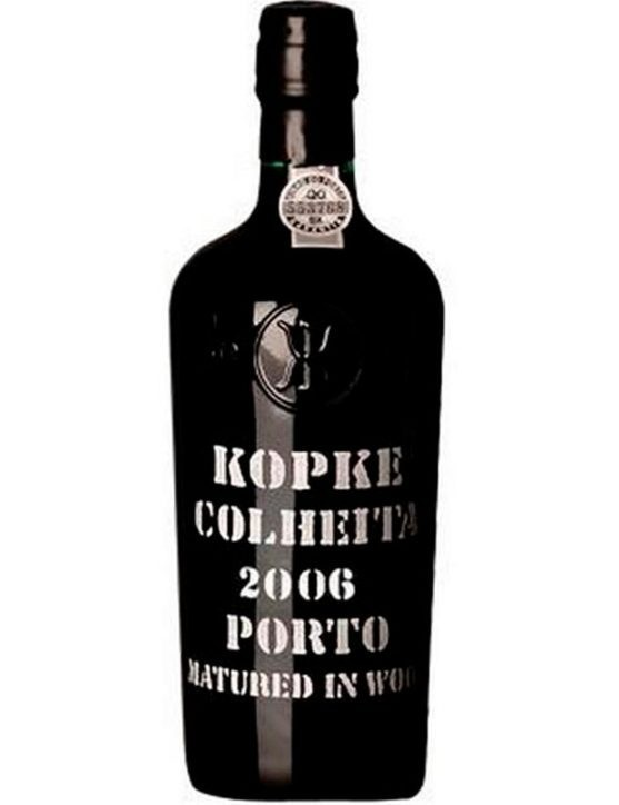 A Bottle of Kopke Harvest 2006