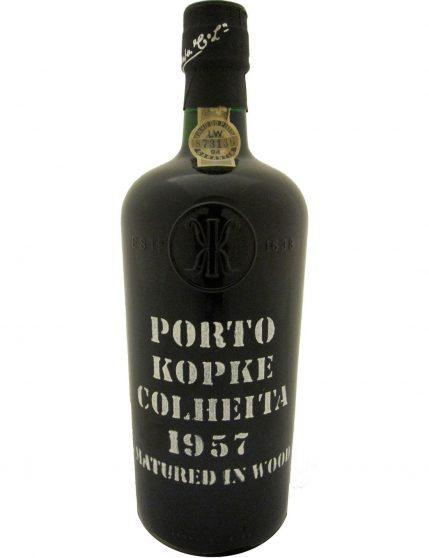 A Bottle of Kopke Harvest 1957