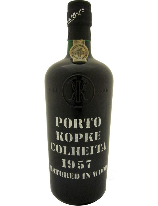 A Bottle of Kopke Harvest 1957