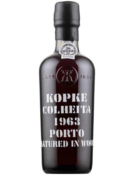 Une bouteille de Kopke Récolte 1963