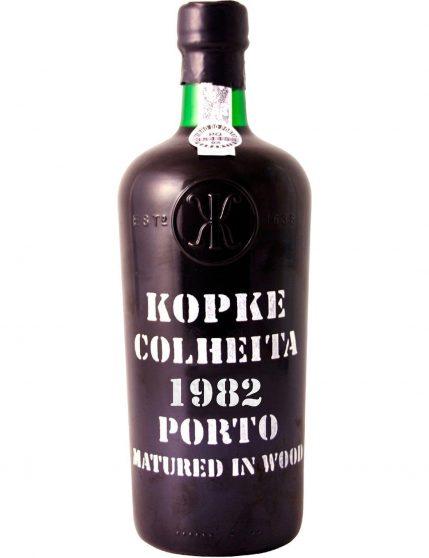 Une bouteille de Kopke Récolte 1982