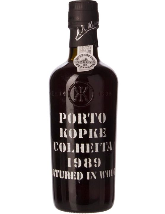 A Bottle of Kopke Harvest 1989