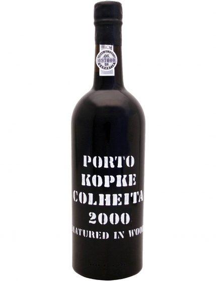 Une bouteille de Kopke Récolte 2000