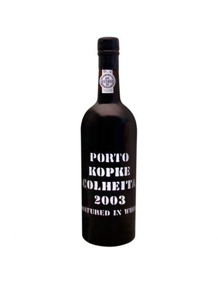 Une bouteille de Kopke Récolte 2003 37.5cl