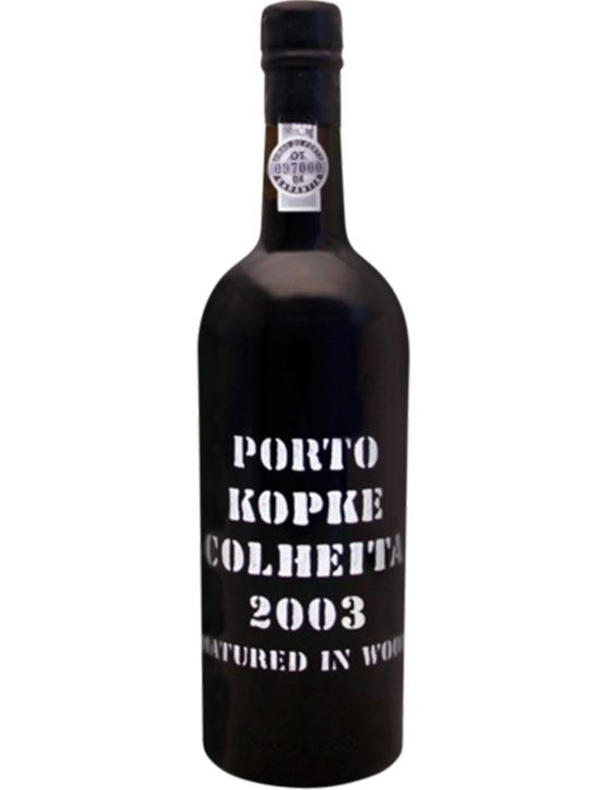 A Bottle of Kopke Harvest 2003