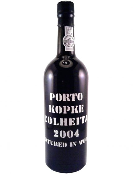 A Bottle of Kopke Harvest 2004