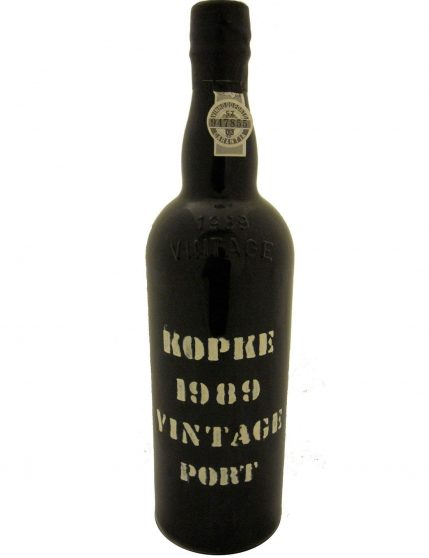 A Bottle of Kopke Vintage 1989 Port