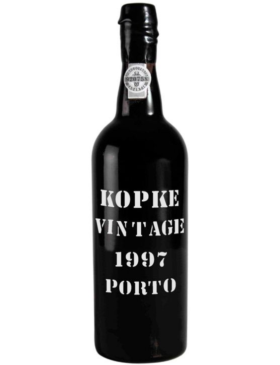 A Bottle of Kopke Vintage 1997 Port