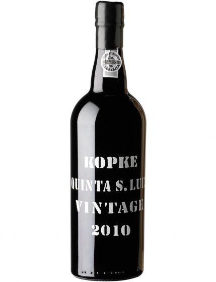 A Bottle of Kopke Vintage 2010 Quinta São Luiz Port Wine