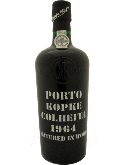A Bottle of Kopke Harvest 1964