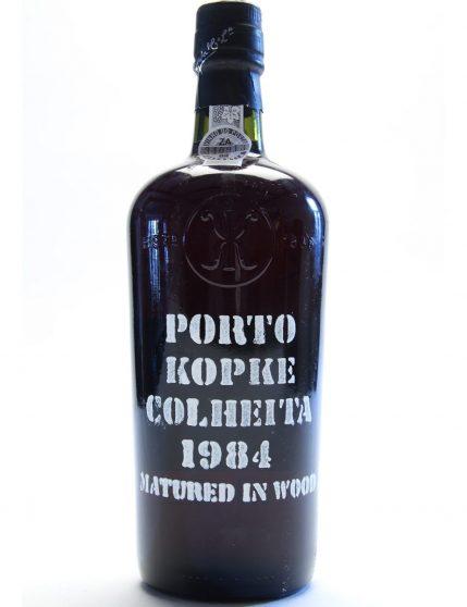 A Bottle of Kopke Harvest 1984