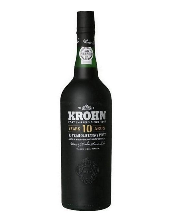 A Bottle of Krohn Tawny 10 Years Port